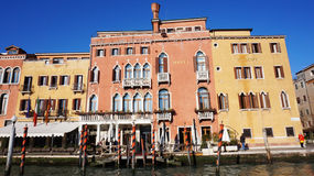 Hotel Principe on the Grand Canal ,Venice Royalty Free Stock Image