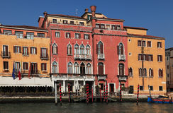 Hotel Principe in Venice. Venice,Italy - 25th February 2011: Image of the Hotel Principe on the Grand Canal ,the biggest waterway of the city.Venice is a special Royalty Free Stock Image