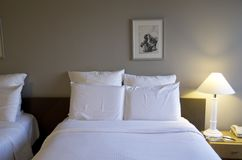 Hotel Pullman Paris Montparnasse. Has nice comfortable bedrooms Royalty Free Stock Images