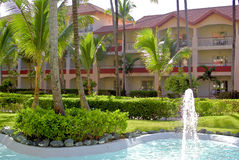 Hotel in Punta Cana Royalty Free Stock Photography
