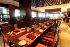 Hotel que cena el restaurante Fotos de archivo libres de regalías