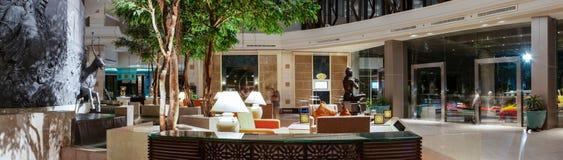 Hotel que janta o restaurante Imagens de Stock