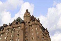 Hotel in Quebec in Kanada Stockfotos