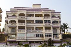 Hotel Radha Beach Resodency Royalty Free Stock Photos