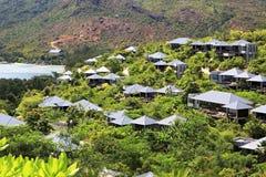 Hotel Raffles Praslin Seychelles Royalty Free Stock Image