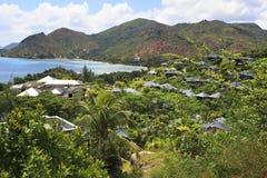 Hotel Raffles Praslin Seychelles Stock Photography