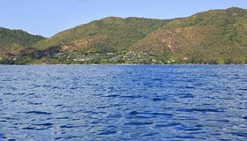 Hotel Raffles Praslin Seychelles Stock Photo