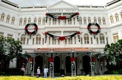 hotel raffles Singapore obrazy stock
