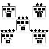 Hotel ratings Royalty Free Stock Image