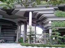 Hotel real Singapura do parque imagens de stock royalty free