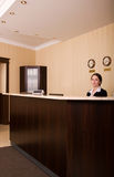 Hotel reception Royalty Free Stock Images