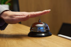 Hotel reception bell Royalty Free Stock Images