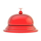 Hotel reception bell isolated Royalty Free Stock Images