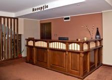 Hotel reception desk Royalty Free Stock Photography