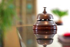 Hotel reception service bell Royalty Free Stock Photography