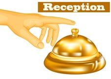 Hotel receptionist Stock Photo