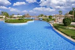 Hotel recreation zone Royalty Free Stock Photos