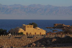 Hotel on the Red Sea Stock Photos