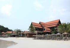 Hotel at redang Royalty Free Stock Image
