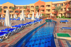 Hotel Regency Plaza in Sharm El Sheikh Royalty Free Stock Images