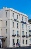 Hotel Regina. On the English Riviera in Torquay, Devon, England Royalty Free Stock Image