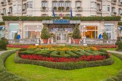 Hotel Regina Palace, Stresa, Italia Fotos de archivo libres de regalías