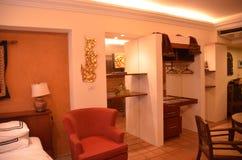 Hotel-Reihe Lizenzfreie Stockfotos