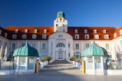 Hotel-Reise Charme Kurhaus Binz, Deutschland stockbild