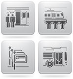 Hotel Related Icons Stock Images