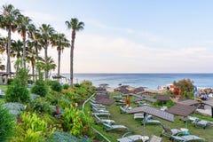 Hotel relaxing zone Stock Photo