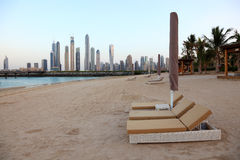 Hotel Resort Beach in Dubai Stock Image