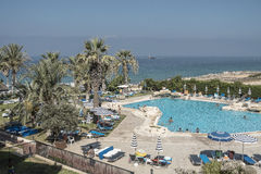 Hotel Resort in Cyprus Royalty Free Stock Photography