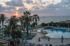 Hotel Resort in Cyprus Stock Images
