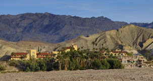 Hotel resort in death valley Stock Photo