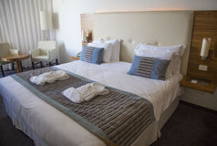 Hotel resort room Stock Images