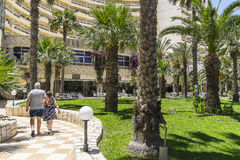 Hotel resort in sousse Royalty Free Stock Photo