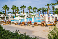 Hotel resort spa in Cyprus Royalty Free Stock Images