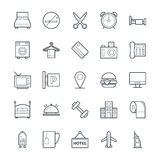 Hotel & Restaurant Cool Vector Icons 1 Stock Photos