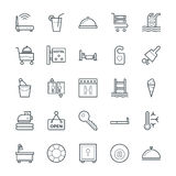 Hotel & Restaurant Cool Vector Icons 2 Stock Photography