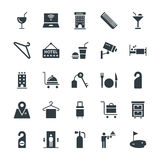 Hotel & Restaurant Cool Vector Icons 3. Get ready for holidays stay in hotels. Here are Hotel Vector Icons that you can use in your next hospitality and Royalty Free Stock Photo