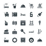 Hotel & Restaurant Cool Vector Icons 2 Royalty Free Stock Photo