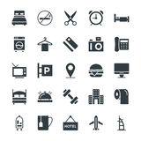 Hotel & Restaurant Cool Vector Icons 1 Stock Photo