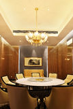 Hotel restaurant dining room Royalty Free Stock Images