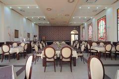 Hotel restaurant interior Stock Photography