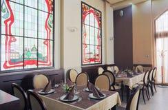 Hotel restaurant interior Royalty Free Stock Photo