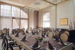 Hotel restaurant interior Stock Image