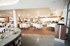 Hotel restaurant Royalty Free Stock Photo