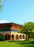 Hotel restaurant in jungle nicaragua Stock Photos