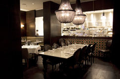 Hotel restaurant Stock Photo