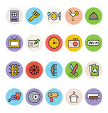 Hotel and Restaurant Vector Icons 1 Royalty Free Stock Images